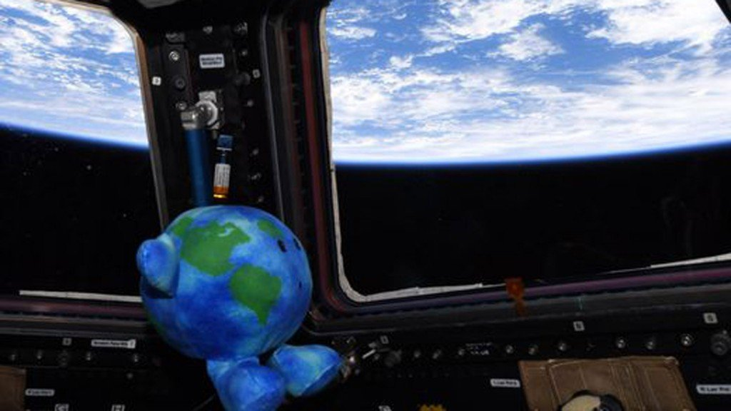 Little Earth's big week on the space station