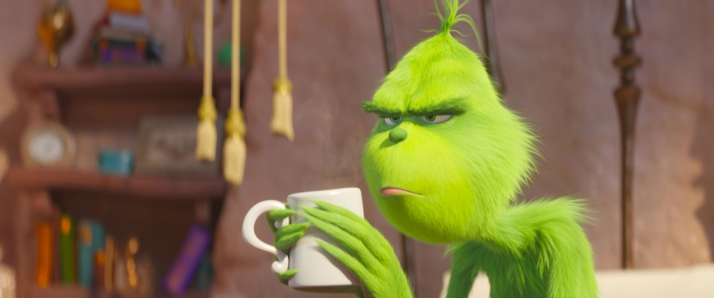 'The Grinch' scores a big weekend box office
