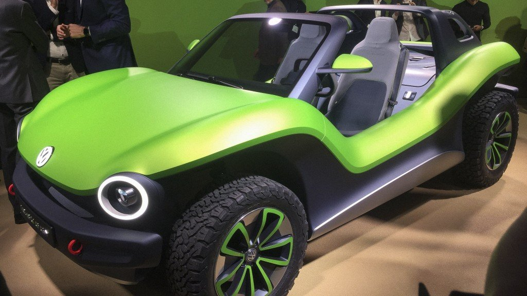 VW might really sell this electric beach buggy