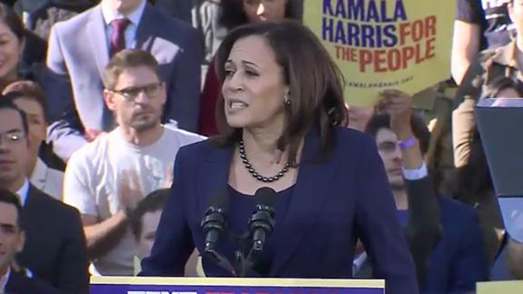Harris: 'Foreign powers infecting the White House like malware'