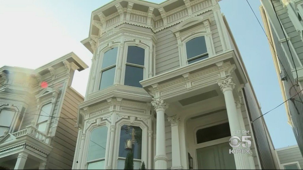 'Full House' Victorian in San Francisco for sale