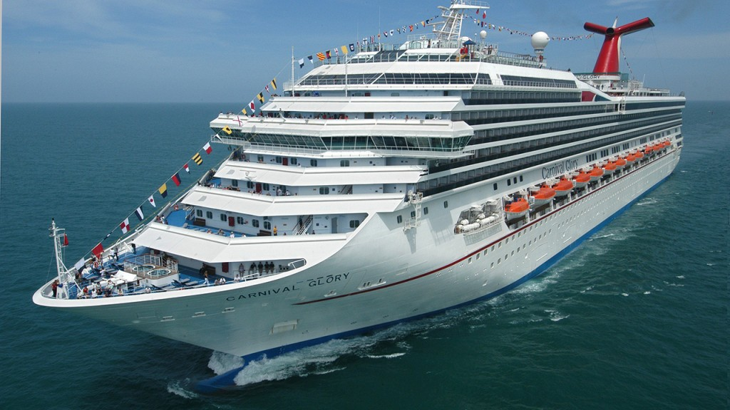 Cruise ship employee rescued by another cruise ship after going overboard