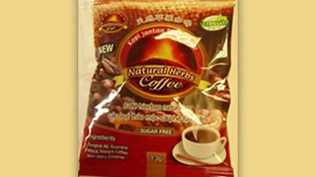 Coffee with Viagra-like ingredient recalled