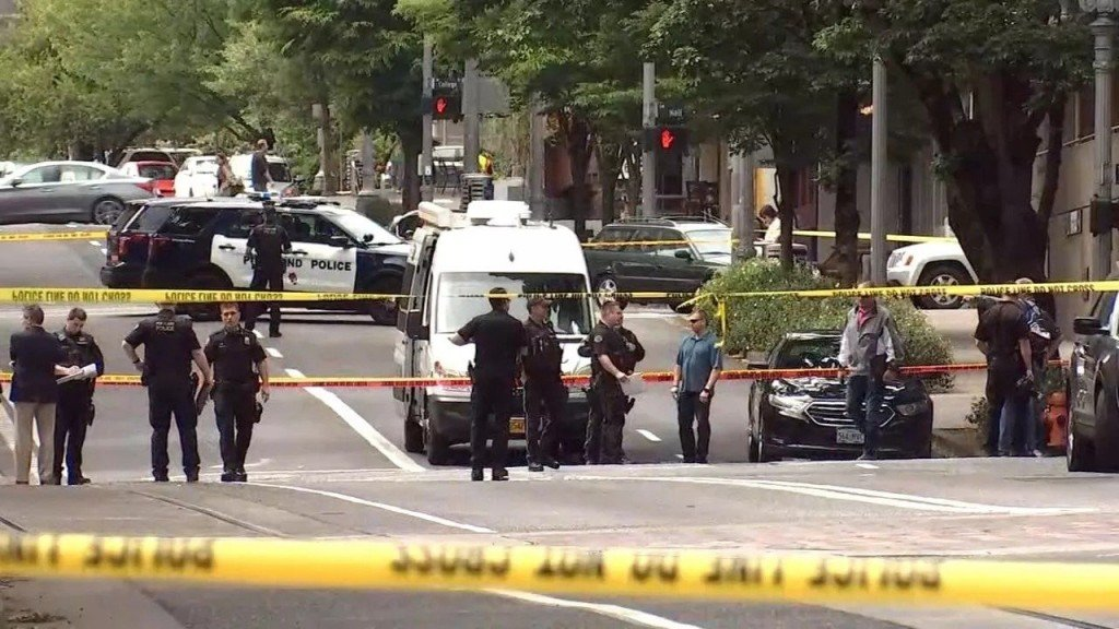 Portland police say one person is in custody in hit-and-run that left 3 seriously hurt