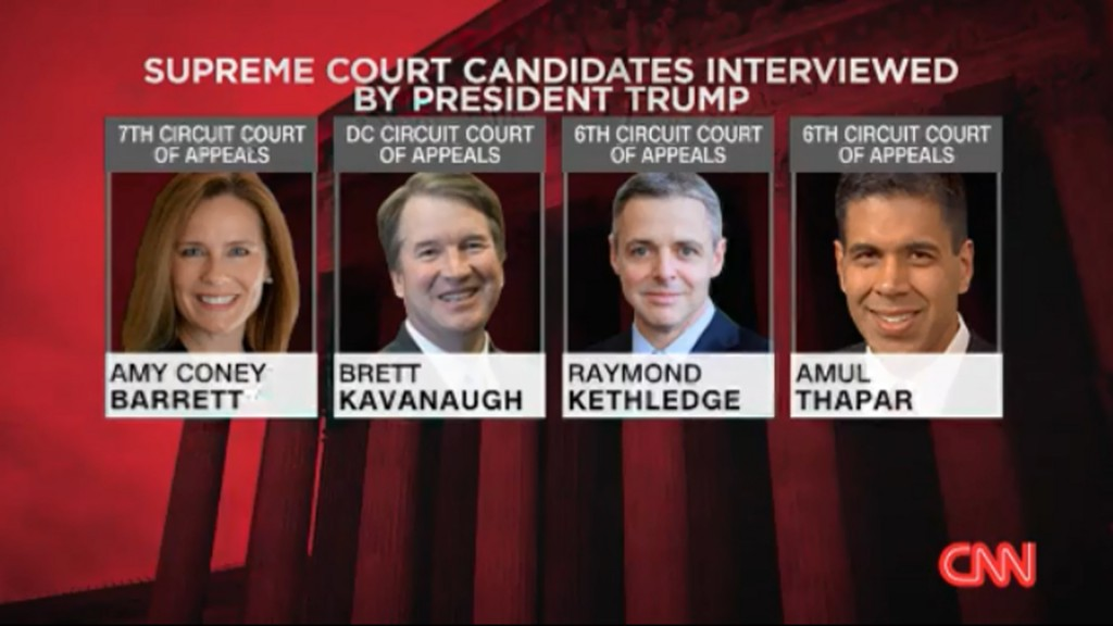 After Supreme Court pick, expect talk of family, sports or fish