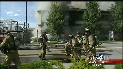 Fire causes Spokane medical building to collapse