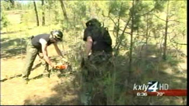 DNR crews clearing way for wildfire season