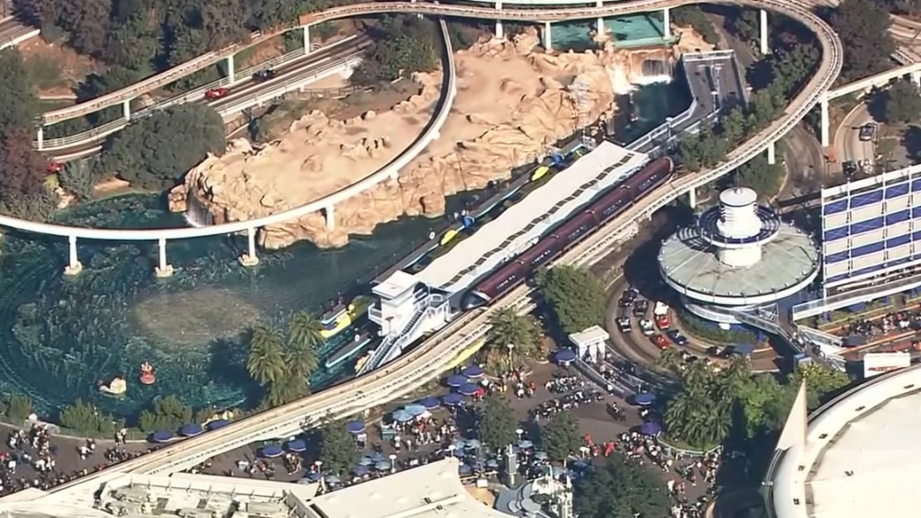 Power restored at Disneyland after outage halts rides