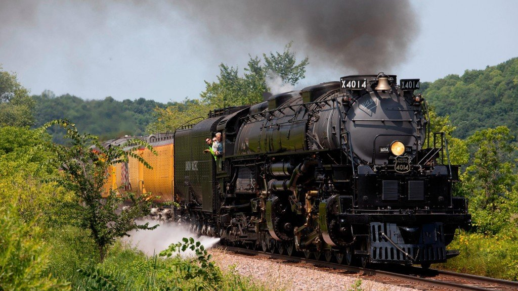World's largest steam locomotive roars after nearly 60 years