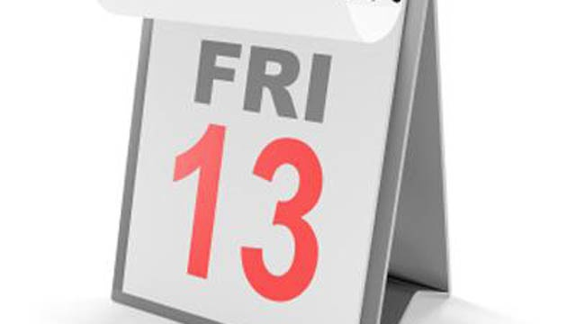 Friday the 13th and other superstitions