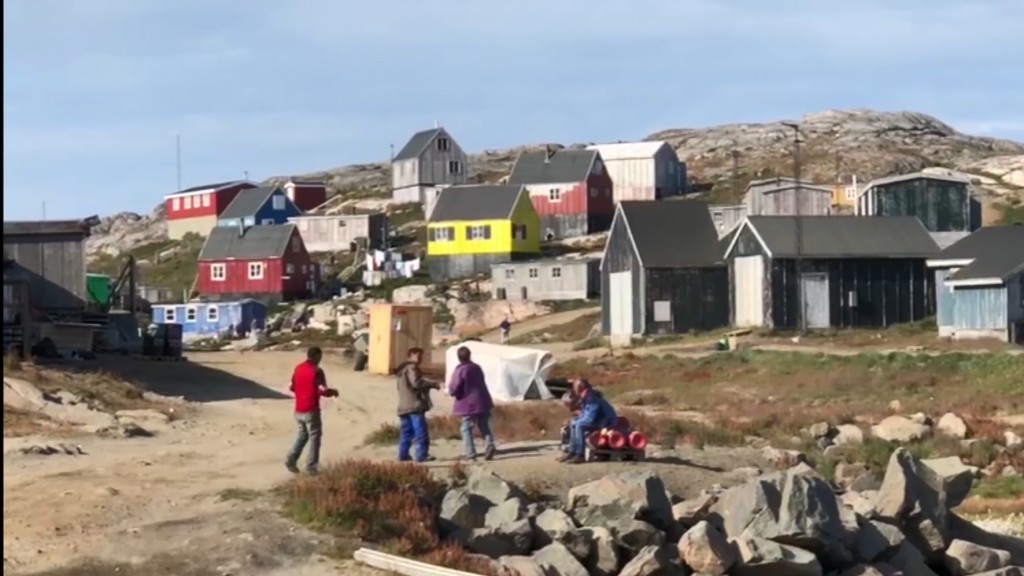 Americans eye Greenland as their next vacation spot