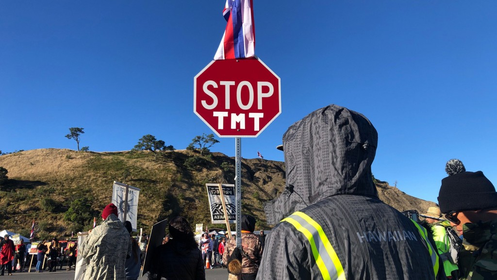 'This is our last stand.' Protesters on Mauna Kea dig in their heels