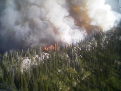 Wildfire season in the Spokane region