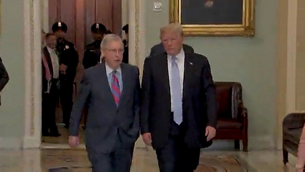 McConnell, White House counsel agree to coordinate impeachment trial