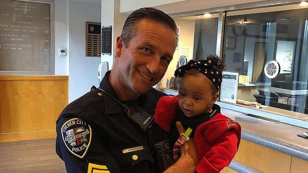 California police officer honored for saving 9-month-old