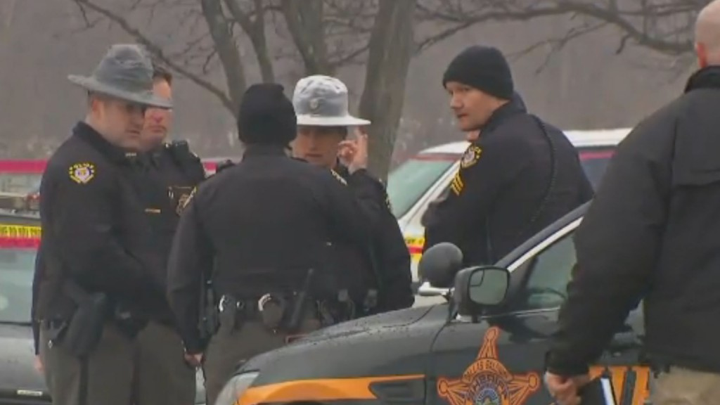Deputy killed during 12-hour Ohio standoff with suicidal man, police say