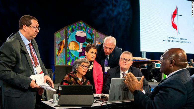 Methodists reject proposal to allow gay clergy, same-sex marriage