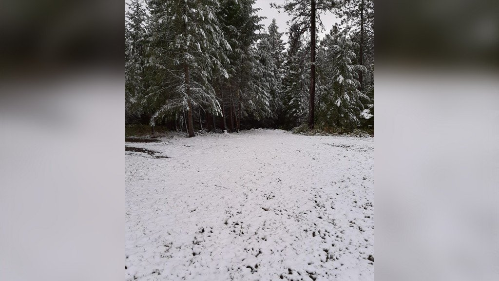 PHOTOS: People across the Inland Northwest wake up to September snow