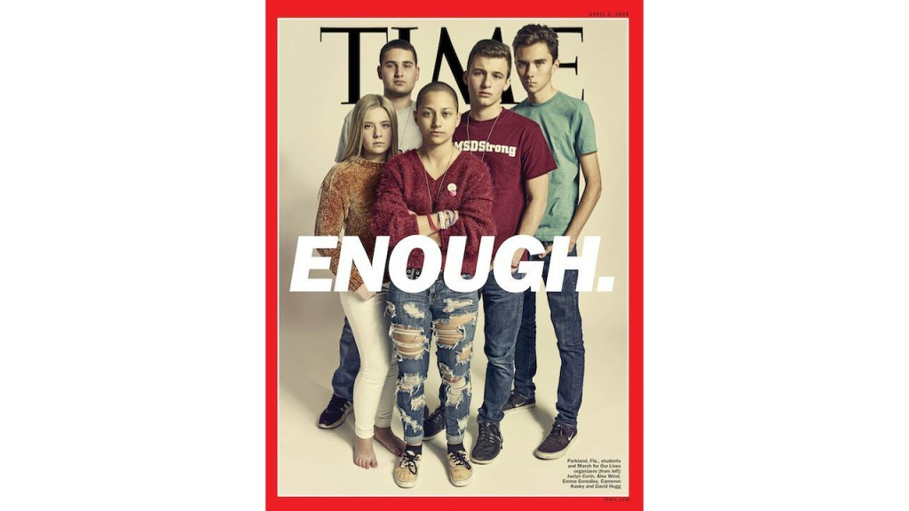 Parkland survivors featured on cover of Time magazine