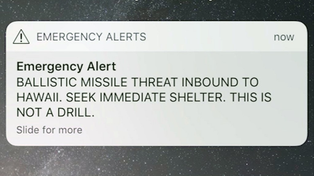 911 calls capture confusion when Hawaii false missile alert went out