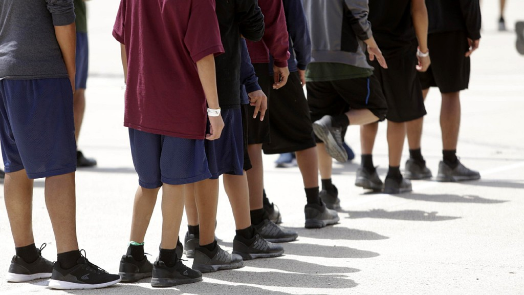 1,469 immigrant boys, ages 10 to 17, housed in Texas shelter