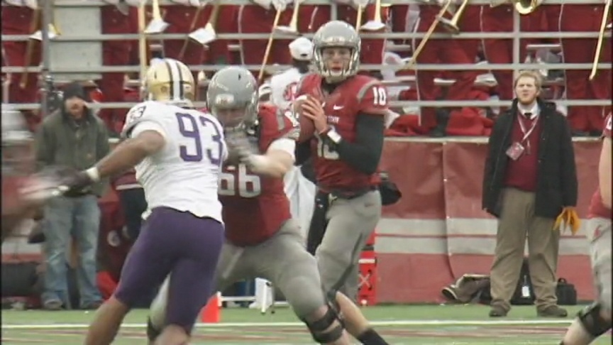 Cougs make dramatic, overtime Apple Cup win