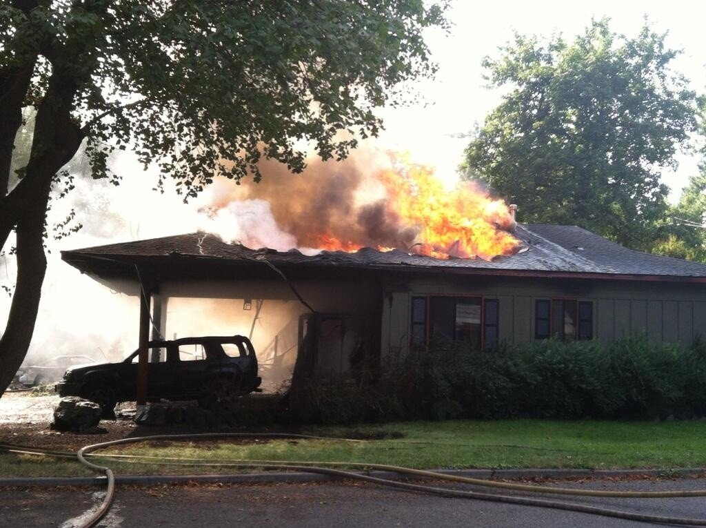 Gallery: 19th and Sherman House Fire