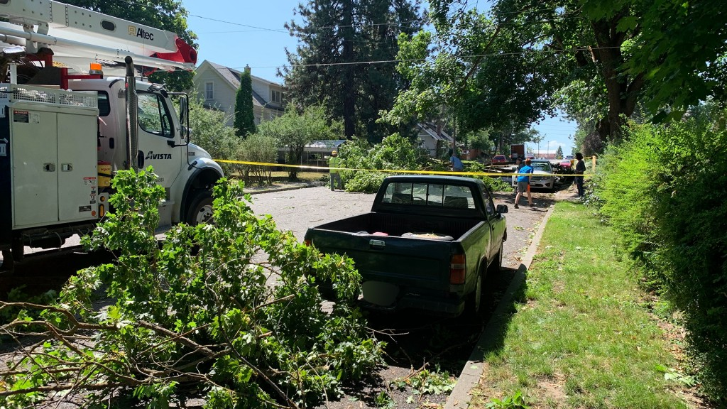 PHOTOS: Neighborhoods left in disarray after powerful overnight storms