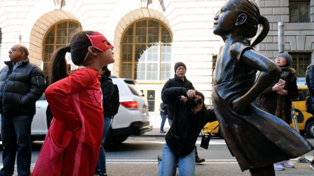 Fearless Girl statue: What does it mean?