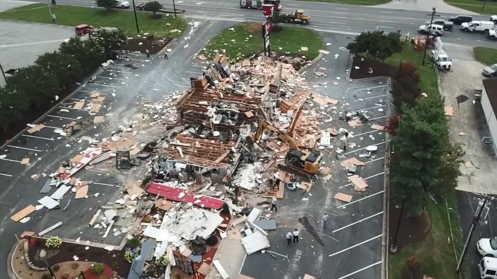 Workers smelled gas before NC KFC explosion