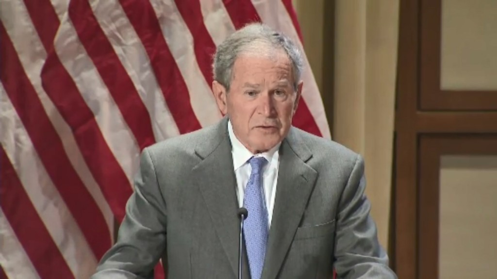 George W. Bush: 'Immigration is a blessing and a strength'