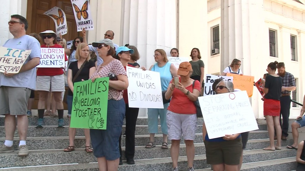 Rallies protesting immigrant family separations taking place across US