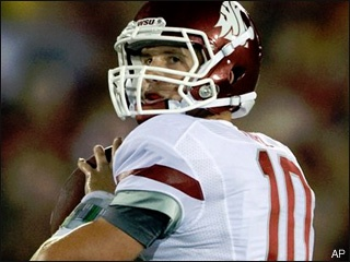Raw Interview: Cougs QB Jeff Tuel