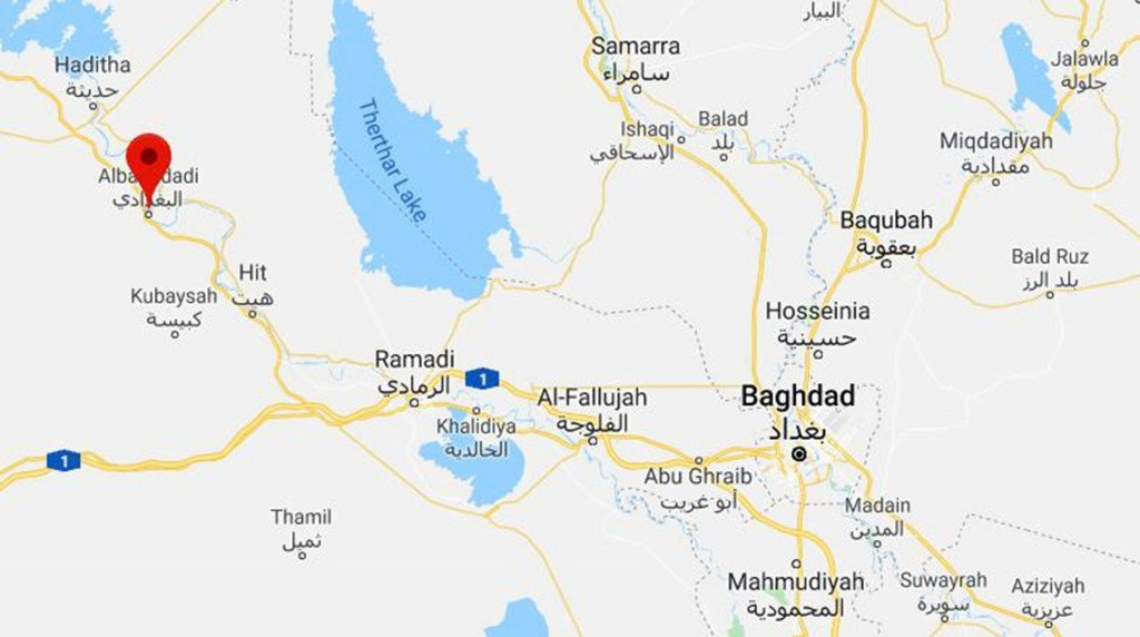 Iraqi officials say security forces, civilian killed in airstrike by coalition forces