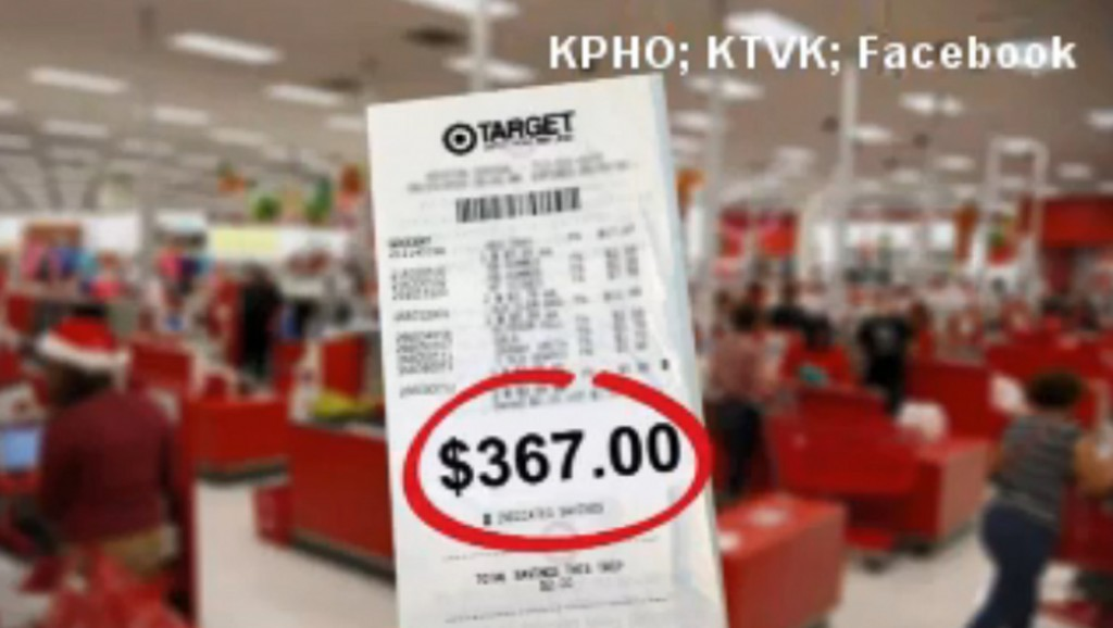 Stranger discreetly pays $367 bill for Target customer