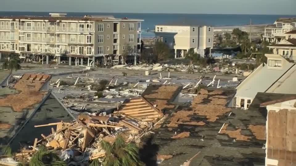 Hurricane Michael killed her husband as she watched. She refused to leave his body in the wreckage.