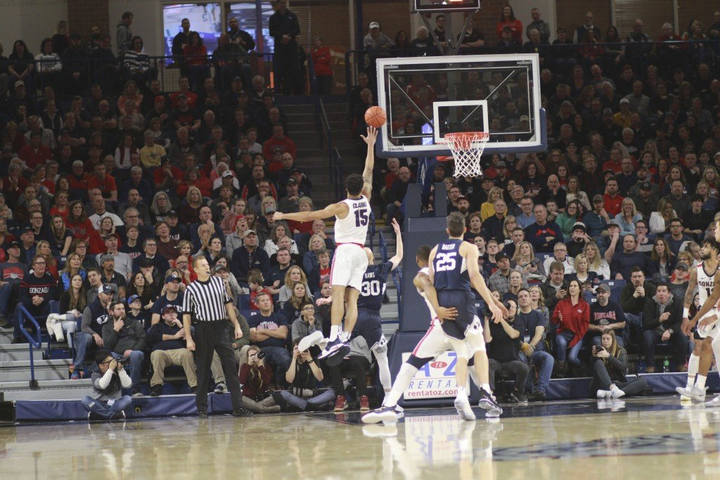 Gonzaga crushes BYU in last home game of the season
