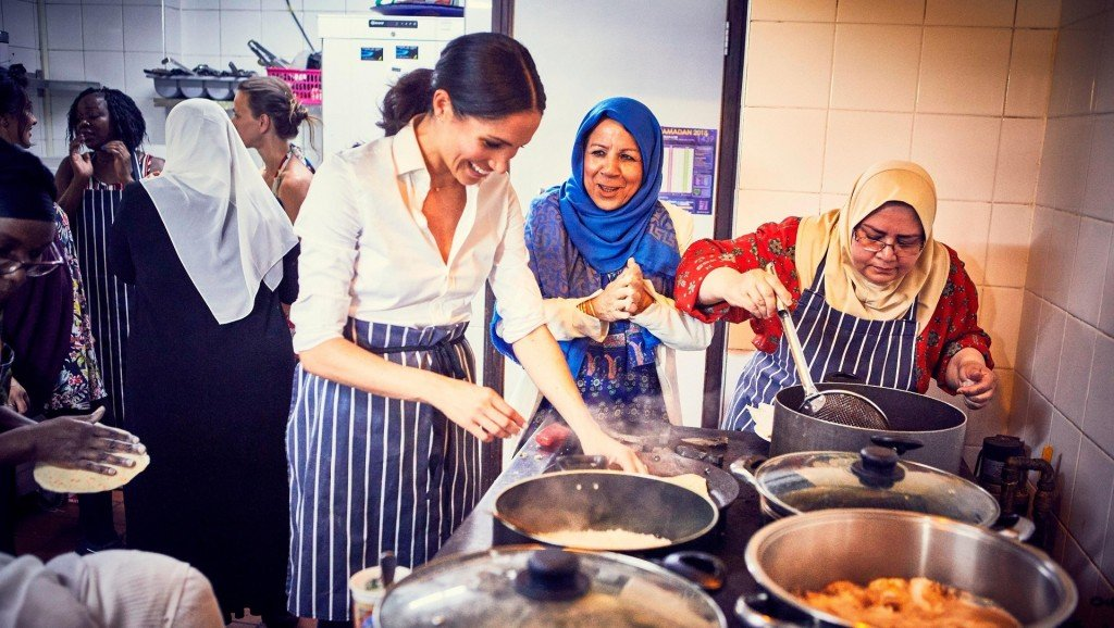 Meghan cooks for Grenfell: Duchess announces support for charity cookbook