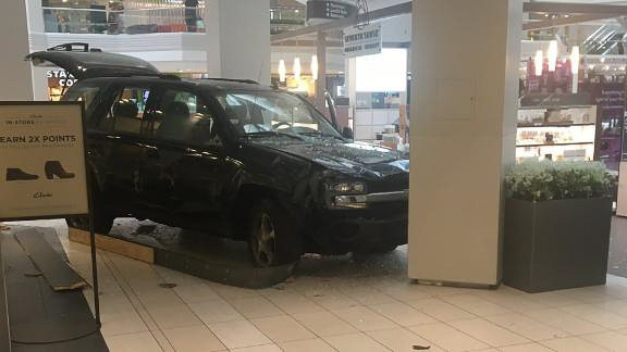 Man accused of driving SUV through mall charged with terrorism
