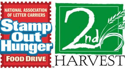 Letter Carriers Help 'Stamp Out Hunger'