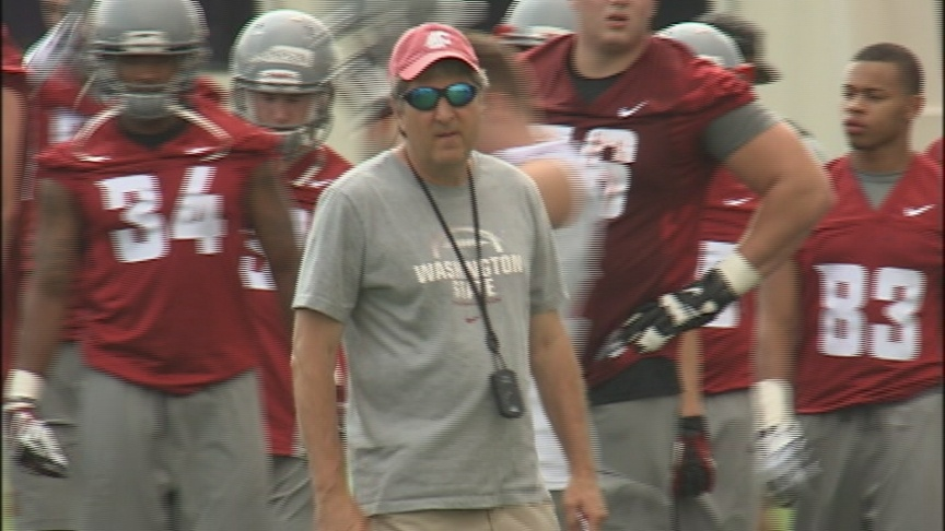 VIDEO:  Cougs kick-off camp in Lewiston