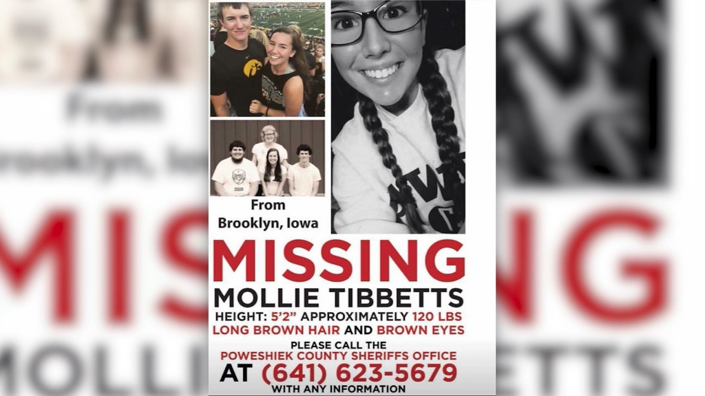 Print shop working nonstop to help find Mollie Tibbetts