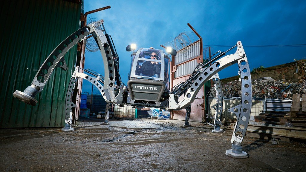 British engineer builds largest rideable robot