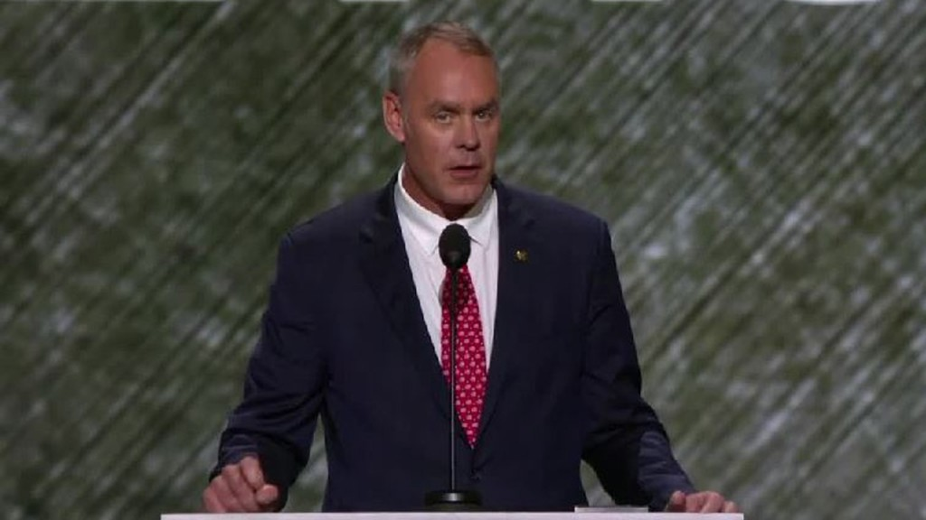 Zinke on offshore drilling flip: Florida's 'coastal currents' are different