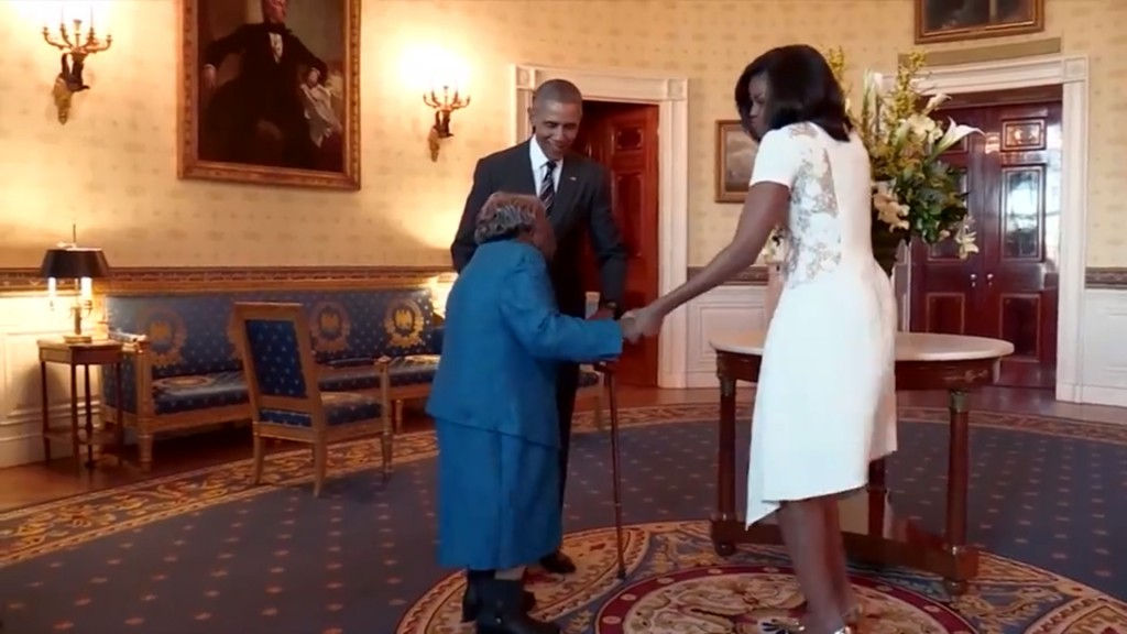 DC woman who danced with Obamas celebrates 110 years