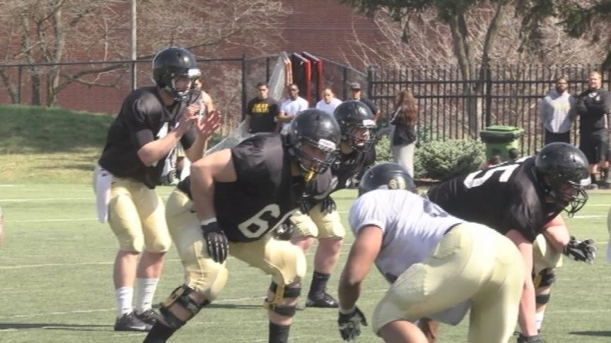 VIDEO: Idaho's first spring scrimmage