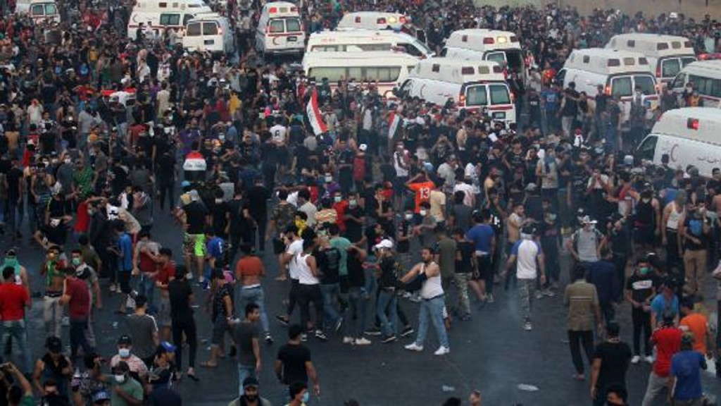 At least 15 killed, hundreds injured in violent protests across Iraq
