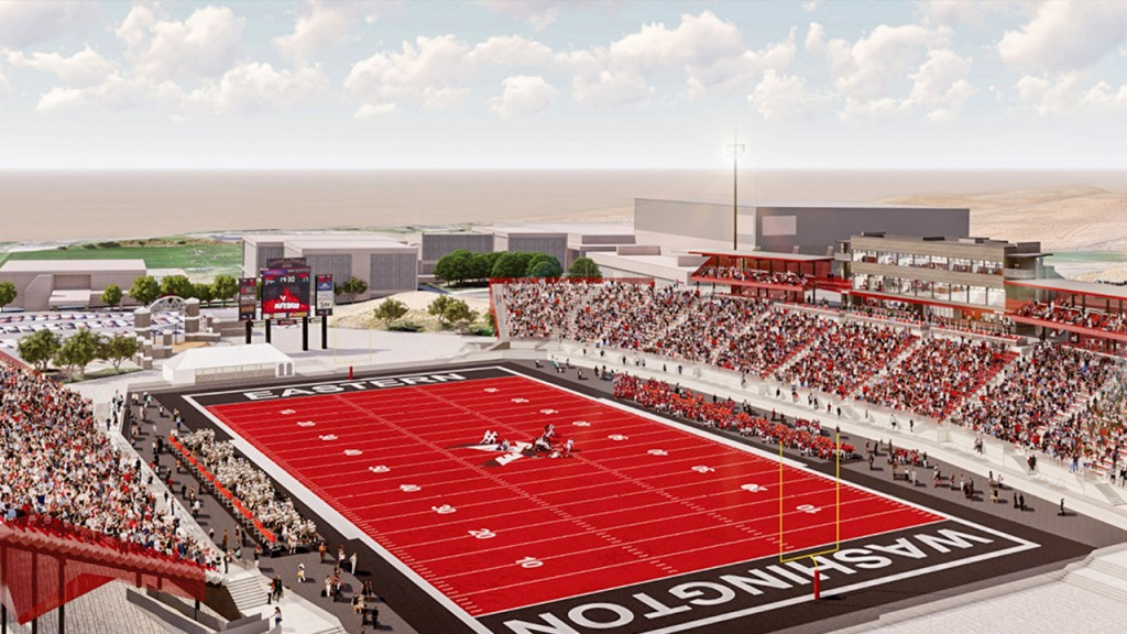 Eastern Washington University reveals $25M stadium renovation plan
