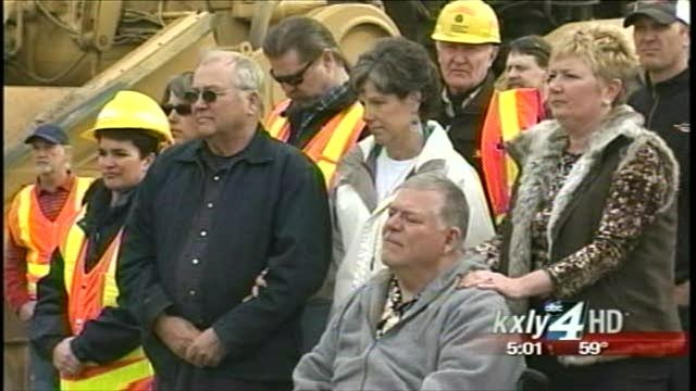 Officials break ground on life-saving road construction project