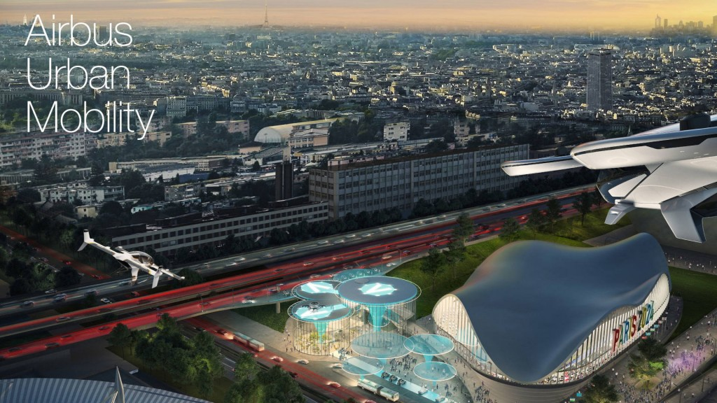 Paris planning flying taxis by 2024